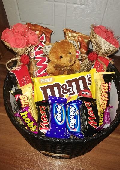 باکس هدیه خرسی شکلاتی