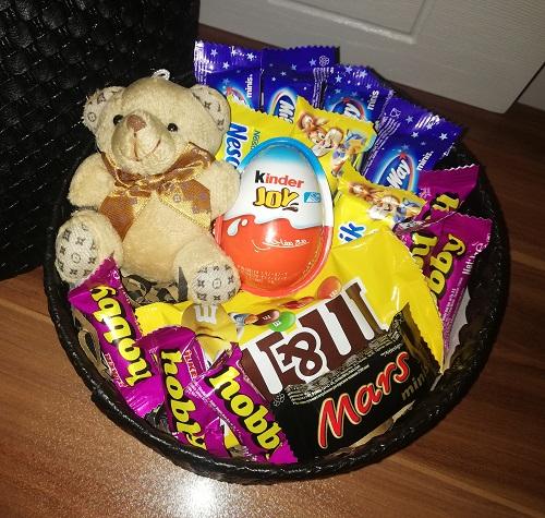 باکس هدیه شماره 11 - خرسی شکلاتی