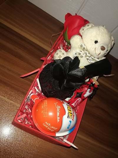 باکس هدیه شماره 24 - خرس و شکلات + ادکلن